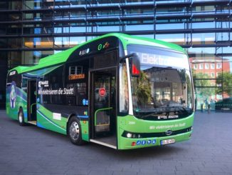 BYD 12m eBus Delivery to BOGESTRA