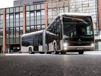 Autobus elettrico Mercedes Benz eCitaro per Amburgo