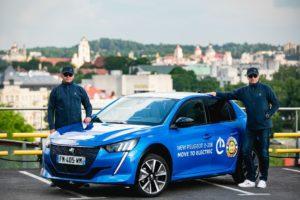 Vittoria della Nuova Peugeot e-208 all'Electric Race in Lituania