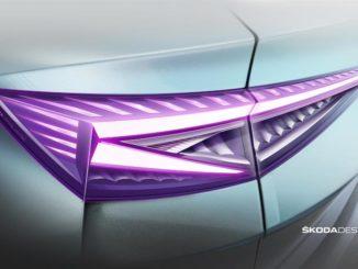 L'innovativa tecnologia di illuminazione della Škoda Enyaq iV