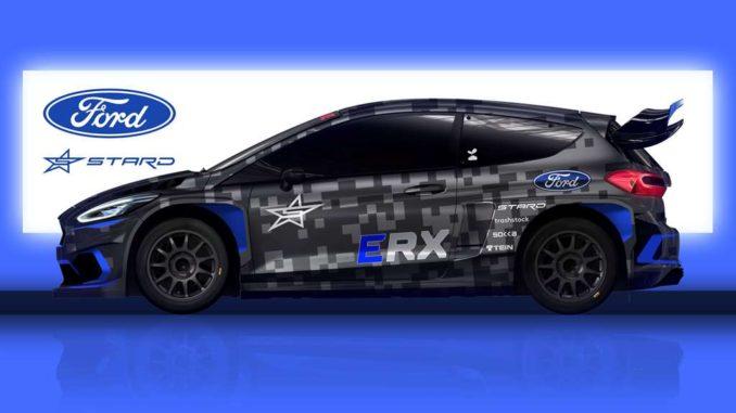 Ken Block correrà in Projekt E Series con la Ford Fiesta ERX elettrica costruita da STARD