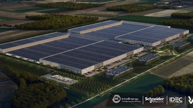 fabbrica di batterie Verkor