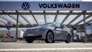 Record di autonomia di Volkswagen ID.3