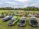 Storia. Opel Manta festeggia al Timmendorfer Strand, come 50 anni fa.