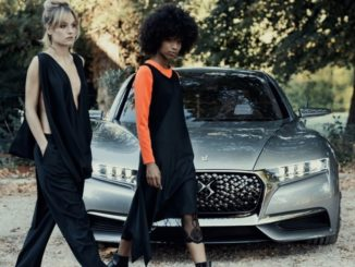 DS 7 Crossback E-Tense 4X4 300 alla Paris Fashion Week