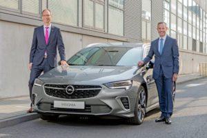 Al via la produzione della nuova Opel Insignia a Rüsselsheim
