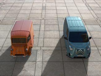 Carrosserie Caselani reinterpreta il furgone Citroën Type G