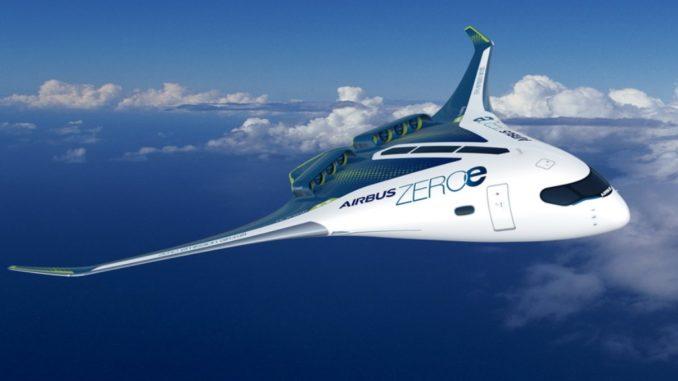 aeromobili a emissioni zero presentati da Airbus
