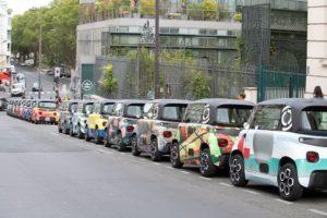 Decorazioni inedite per i quartieri di Parigi da Ami 100% ëlectric