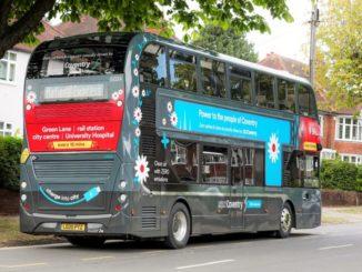 BYD ADL Enviro400EV a due piani per Coventry