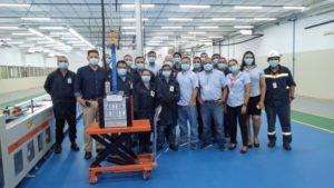 BYD Battery Factory in Brasile