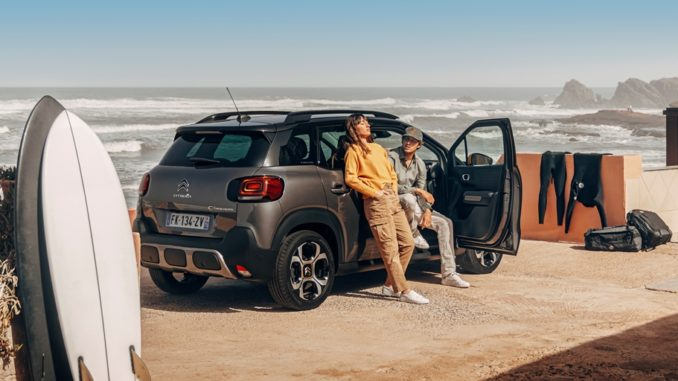 serie speciale SUV Citroën C3 Aircross Rip Curl