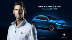 Djokovic Peugeot Roland Garros