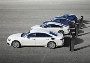 gamma ibrida plug-in di Audi