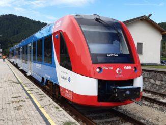 Coradia iLint Alstom Austria
