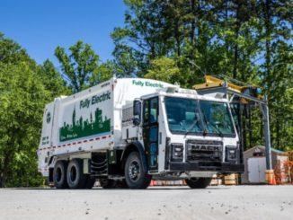 camion elettrico Mack LR