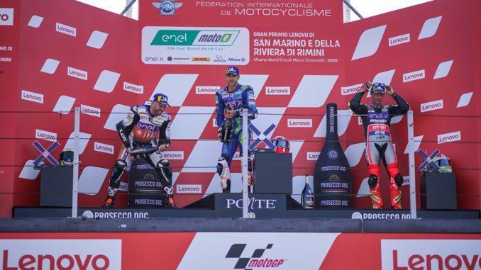 Matteo Ferrari ha vinto in MotoE a Misano