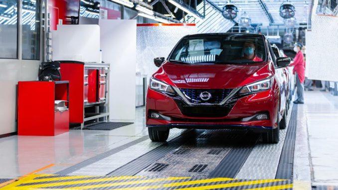 500mila Nissan Leaf