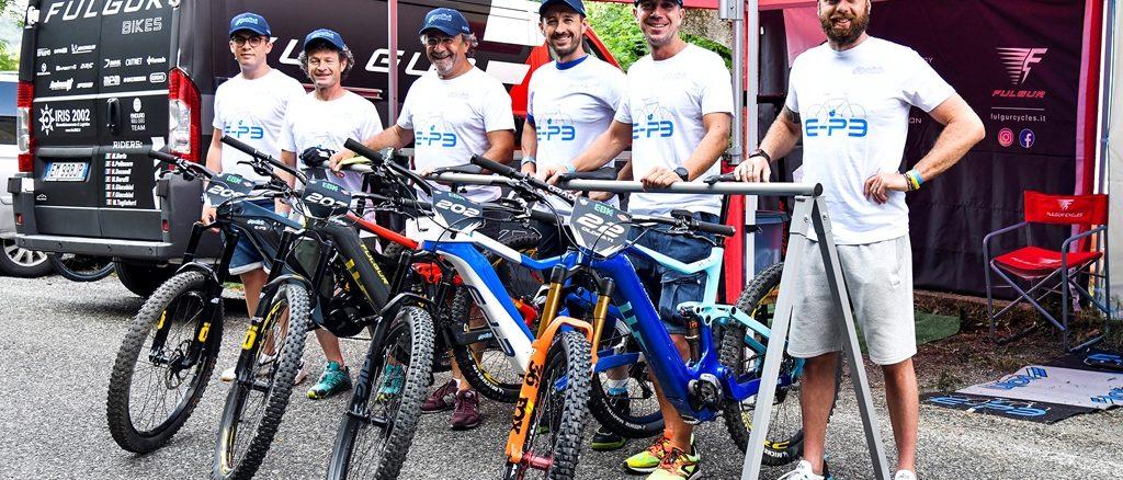 Polini vince la prima gara del Campionato Italiano E-Bike Enduro con Thomas Oldrati