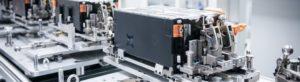 assemblaggio delle batterie al litio Skoda