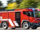 Camion elettrico dei pompieri da Volvo Penta