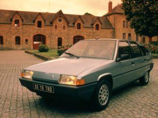 La storia del successo della Citroën BX