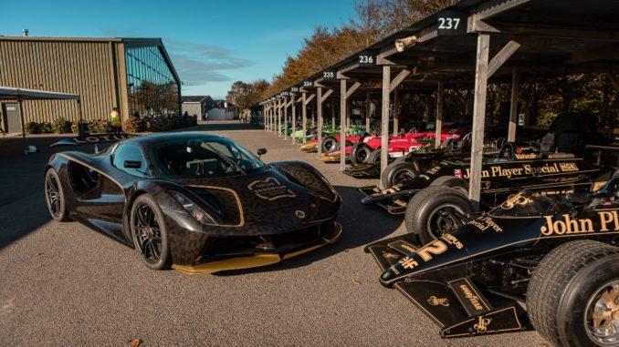 Debutto pubblico dinamico di Lotus Evija alla Goodwood SpeedWeek