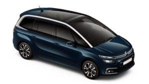 La grande luminosità dell'abitacolo delle vetture Citroën