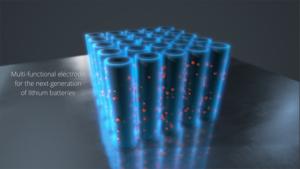 Elettrodo al carbonio ultra veloce di NAWA Technolgies