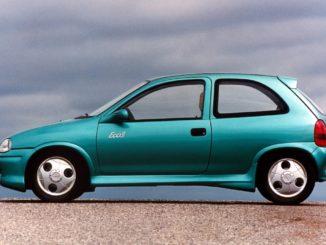 Il prototipo Opel Corsa Eco 3 al Salone di Francoforte 1995
