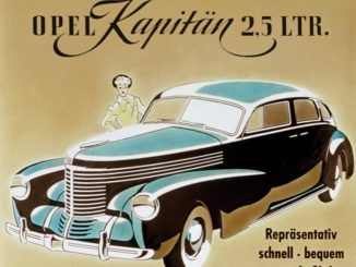 Storia. Le ammiraglie Opel, dalla Kapitän alla nuova Opel Insignia