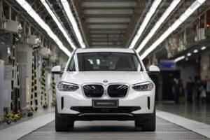 Inizio della produzione della BMW iX3