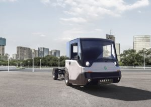 Il commerciale elettrico Ecarry made in Italy