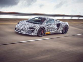 Fase finale di prova per la McLaren ibrida ad alte prestazioni