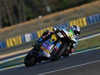 Di Meglio il più veloce della MotoE nel debutto a Le Mans