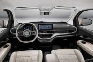 Anteprima mondiale di Nuova Fiat 500 3+1 elettrica