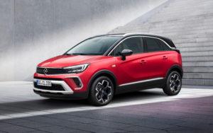 Il viso particolare di Nuovo Opel Crossland