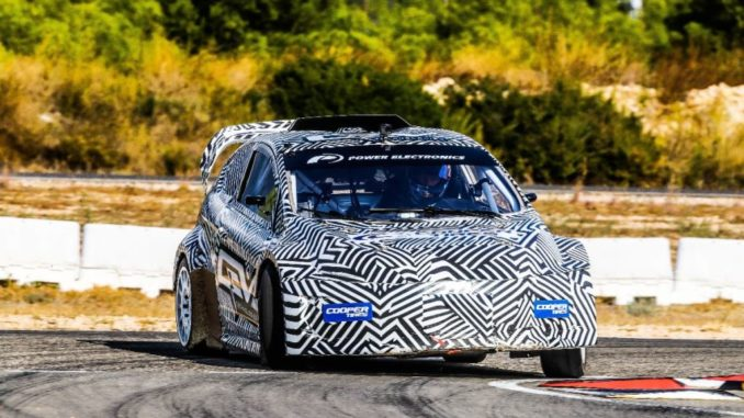 FIA RX2e car laps up attention on international debut