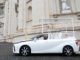 Papamobile a idrogeno da Toyota