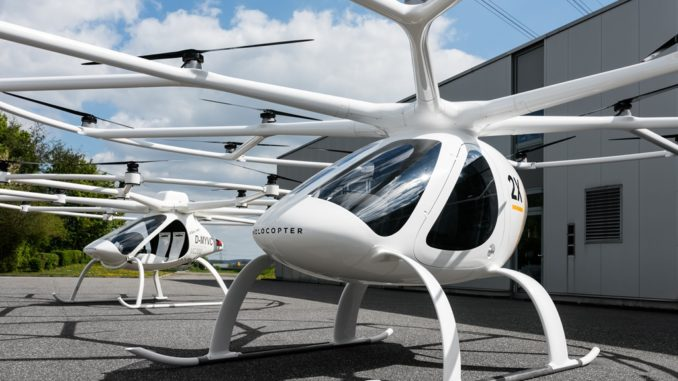 Partnership Volocopter e Lufthansa Industry Solutions