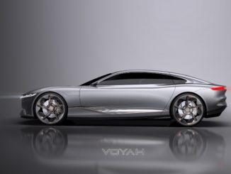 Voyah i-Land, la prima concept car elettrica Dongfeng firmata Italdesign