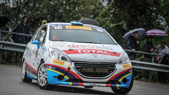 Peugeot Competition 208 Rally Cup PRO. Vince Alessandro Zorra