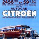 Affiche Rally Monte Carlo autobus Citroën(2)
