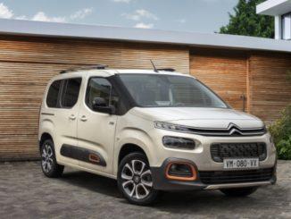 Rinnovata la gamma Citroën Berlingo