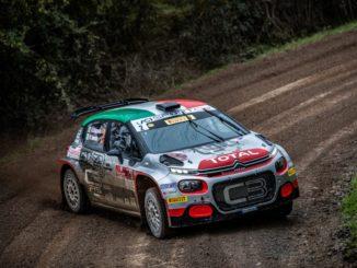 Andrea Crugnola e Pietro Ometto sono campioni italiani rally con Citroën C3 R5