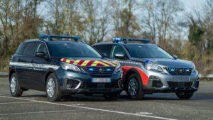 Peugeot 5008 alle Forze dell'Ordine francesi