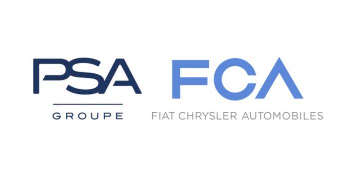 Logo PSA FCA