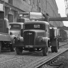 3 to Opel Blitz im Mannheimer Hafen, April 1955
