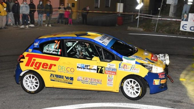 Riccardo Tondina campione 2020 del Peugeot Competition Rally Regional Club
