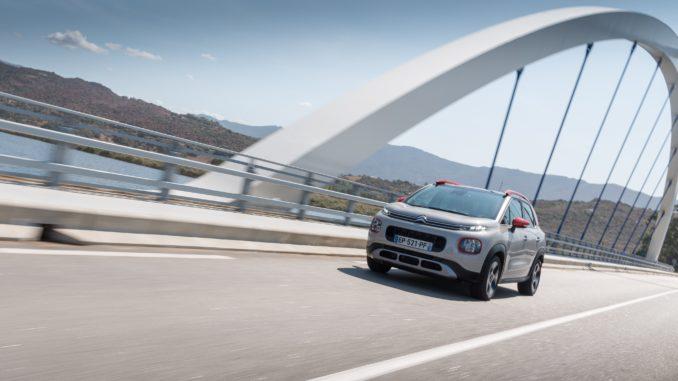 Nuovo motore Diesel BlueHDi 110 S&S sul SUV Citroën C3 Aircross